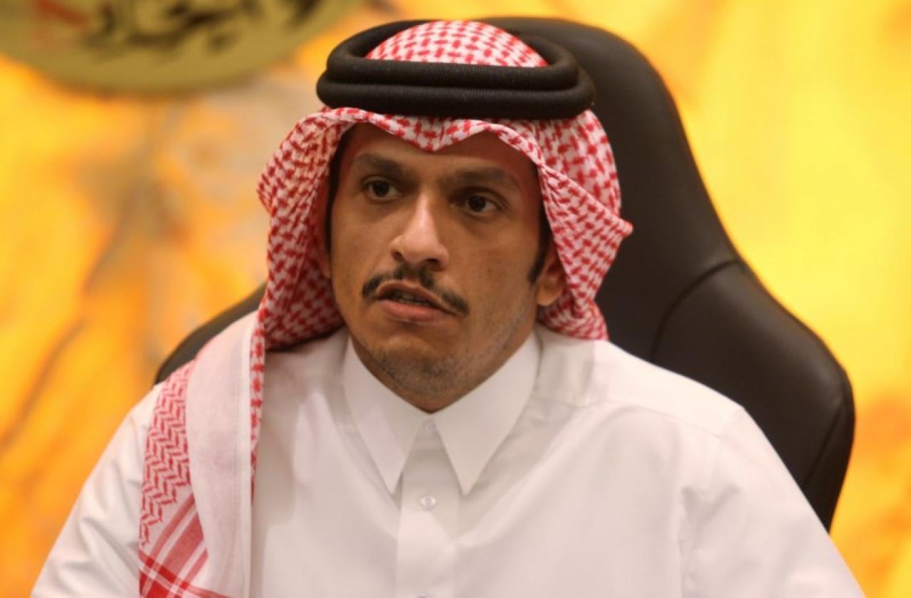 وزير الخارجية القطري: ما يهمنا موقف الخارجية الامريكية وليس الرئيس الامريكي