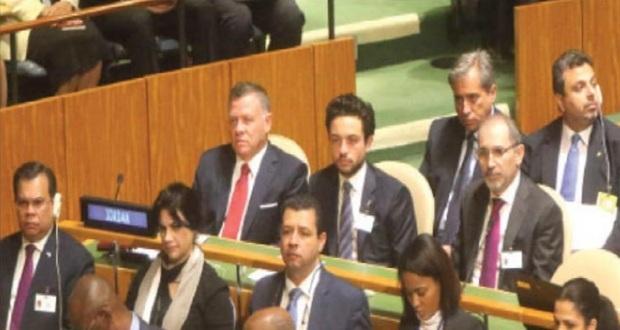 الملك يترأس وفد الأردن في «عمومية الأمم المتحدة»