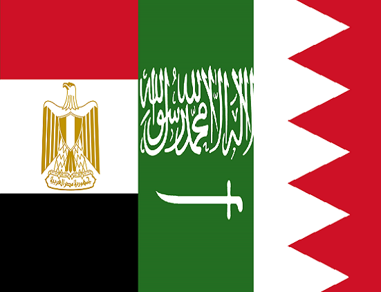 السعودية والبحرين ومصر تطالب قطر بوقف تمويل الجماعات الإرهابية
