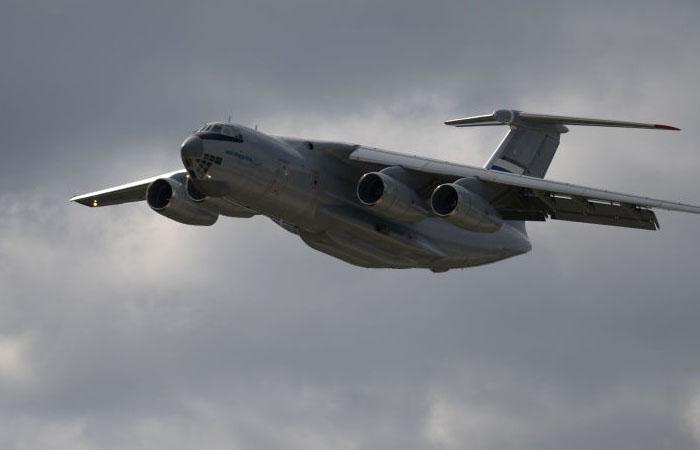 """وزارة الدفاع الروسية تتسلم طائرة ضخمة من طراز """"إيل-76إم دي-90أ"""""""