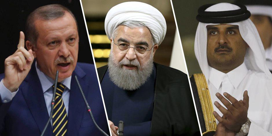 الإخوان والجماعات الإرهابية أداة في يد إيران وقطر لاستهداف الدول العربية