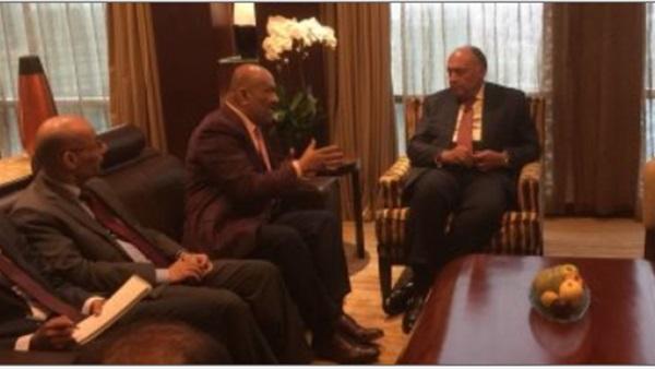 وزير الخارجية المصري يبحث مع نظيره اليمني تطورات الأوضاع