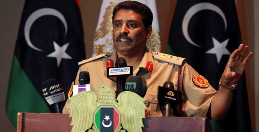 """العقيد المسماري: """"الجزيرة"""" القطرية تحاول الوقيعة بين ليبيا والجزائر"""