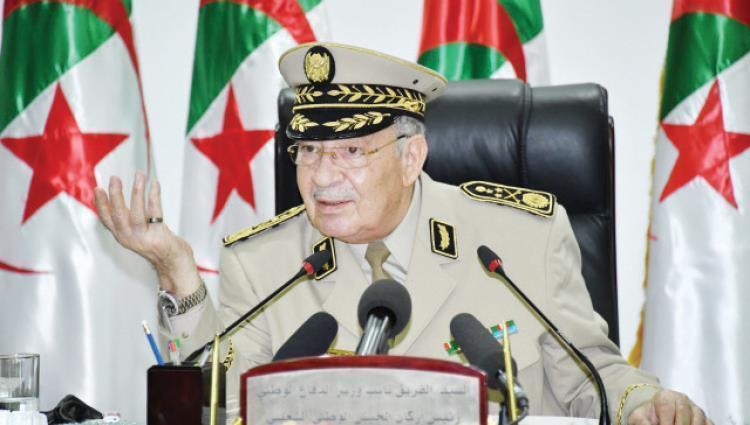 قائد أركان الجيش الجزائري يدعو لإجراء الانتخابات الرئاسية في موعدها
