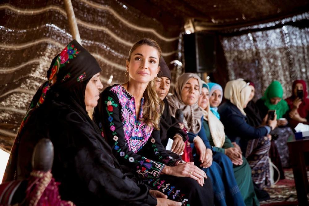 الملكة رانيا: المشاريع تقاس بمدى تأثيرها على صاحبها