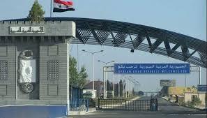 معبر نصيب يستقبل 154ألف سوري منذ افتتاحه