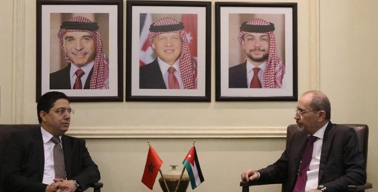 الأردن والمغرب يتفقان على وضع خريطة لترجمة ومأسسة التنسيق بين البلدين
