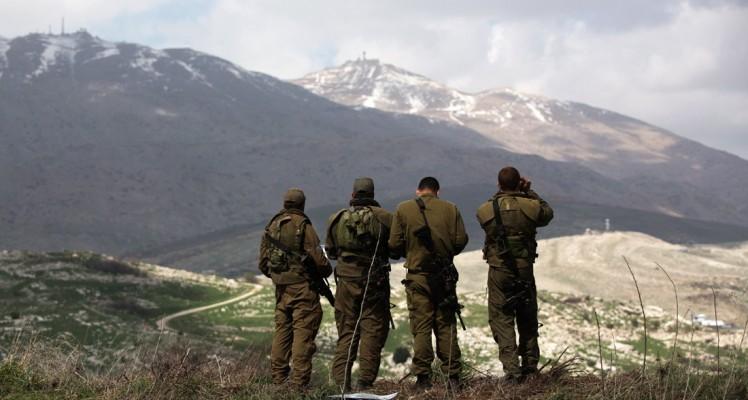 """الإحتلال الإسرائيلي يغلق """"سماء هضبة الجولان"""""""