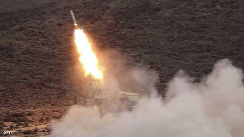 التحالف العربي يسقط صاروخا أطلق من معقل الحوثي