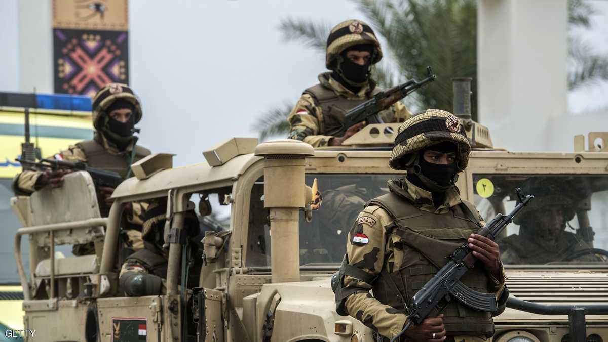الجيش المصري يحبط هجوما إرهابيا ويقتل 5 مسلحين