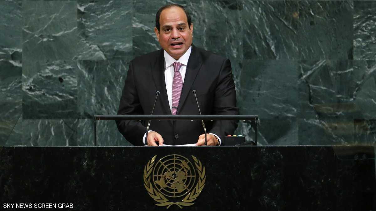 السيسي يؤكد على ضرورة محاربة الإرهاب ووسائل إعلامه