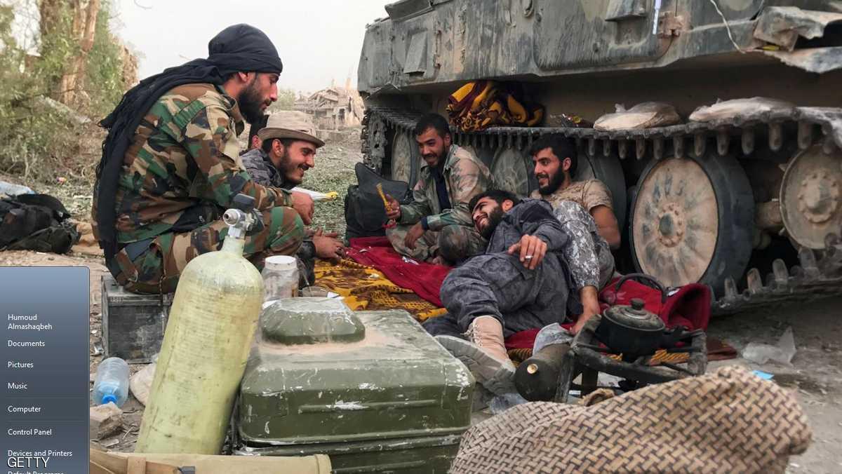 الجيش السوري يبدأ اقتحام حويجة كاطع في دير الزور