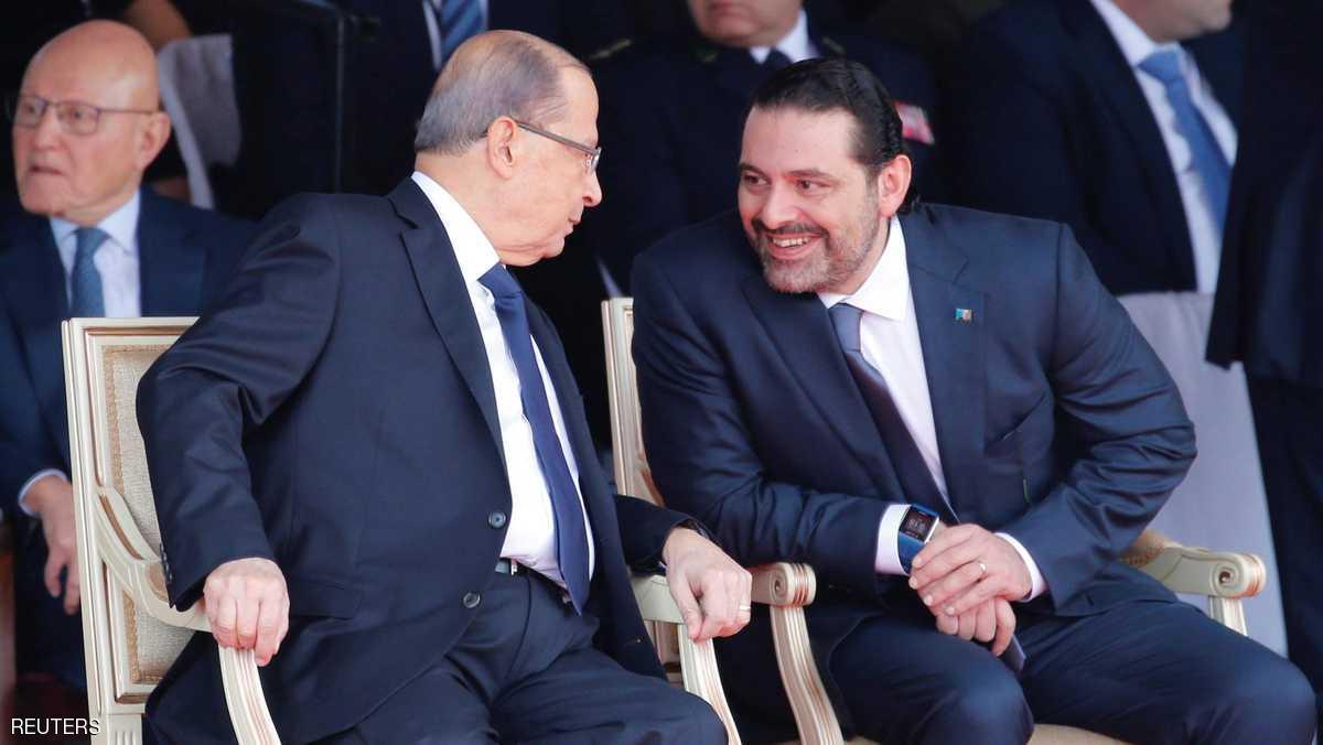 الحريري يوافق على التريث في تقديم استقالته