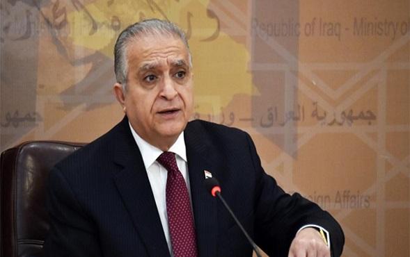 وزير الخارجية العراقي يعلن رفض بلاده مشاركة إسرائيل في تأمين الخليج