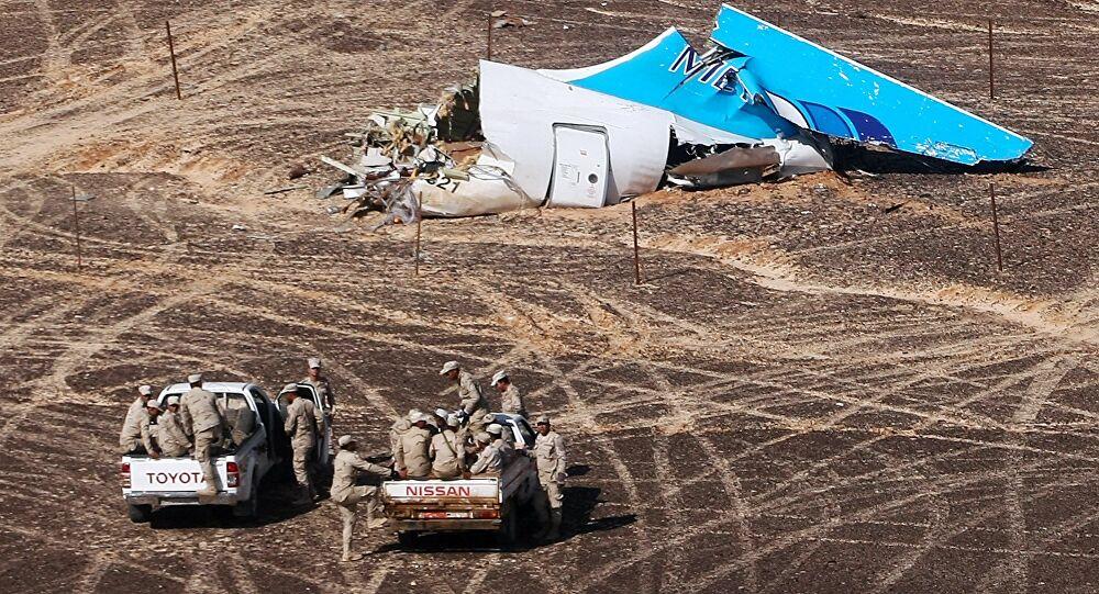 تفاهمات روسية مصرية لدفع تعويضات لأسر ضحايا تفجير طائرة ركاب فوق سيناء عام 2015