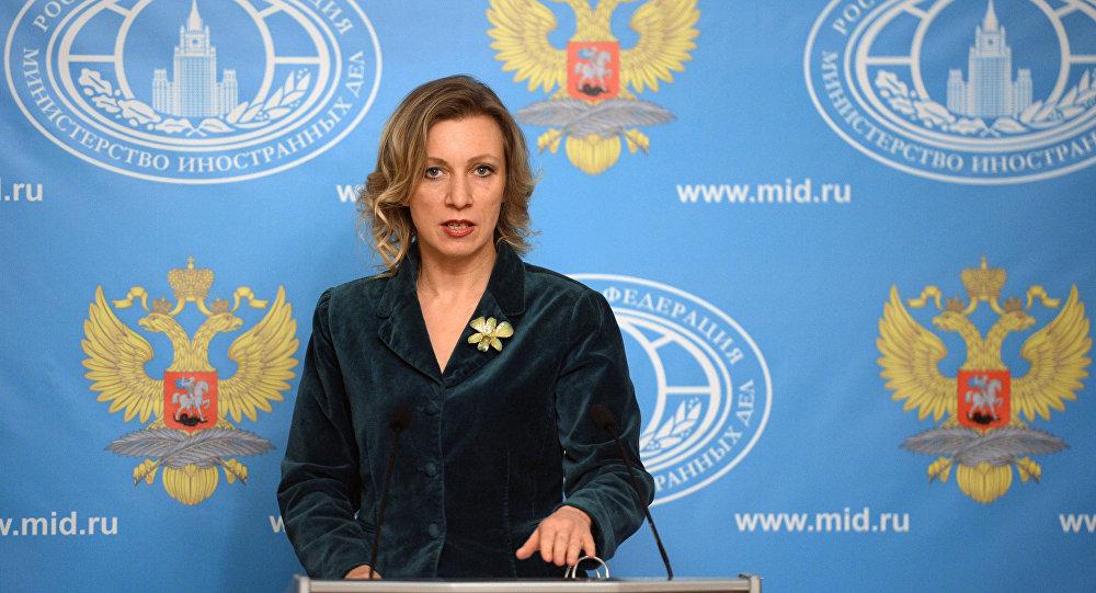 """روسيا تصف تصريحات ماي بانها """"مهزلة"""" و""""استفزاز"""""""