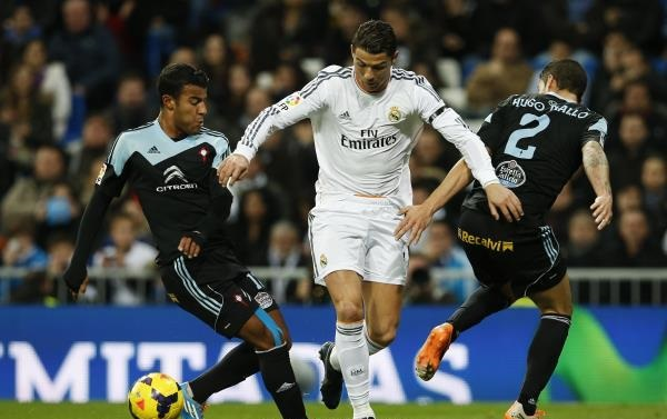 ريال مدريد يكتسح سلتا فيجو بثلاثية