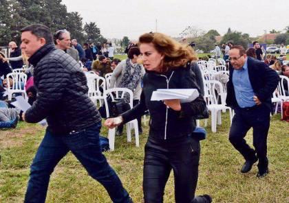 """صحيفة عبرية تنشر فضيحة الوزير الليكودي """"القرا"""" لحظة هروبه اثناء سقوط """"صاروخ"""" من غزة"""
