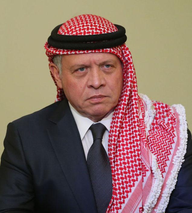جلالة الملك عبدالله الثاني يعزي أمير دولة الكويت بوفاة الشيخ حمود صباح سالم الحمود الصباح