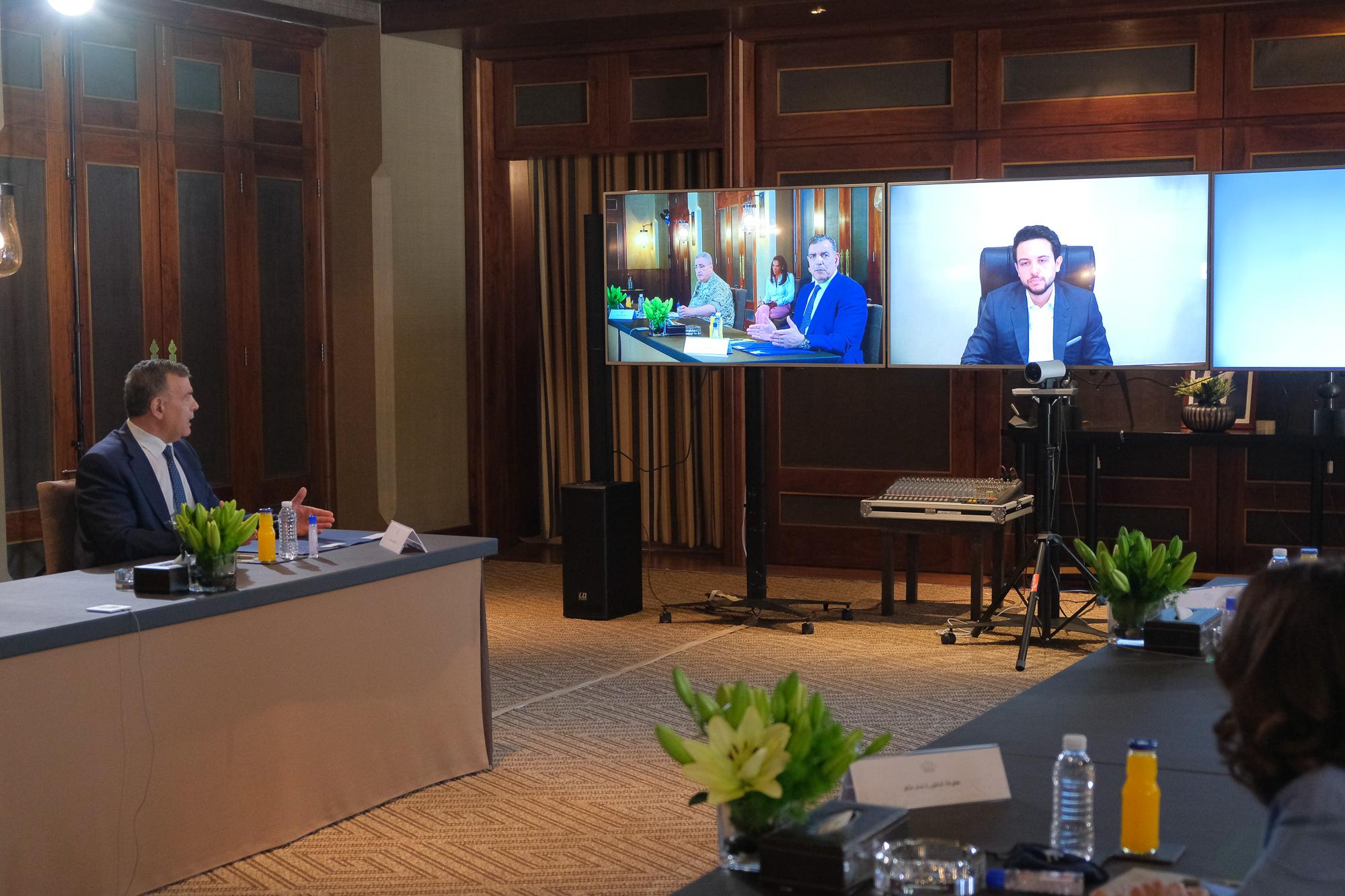 سمو ولي العهد يؤكد ضرورة رفع وتعزيز قدرة الأردن في مجال فحوصات فيروس كورونا