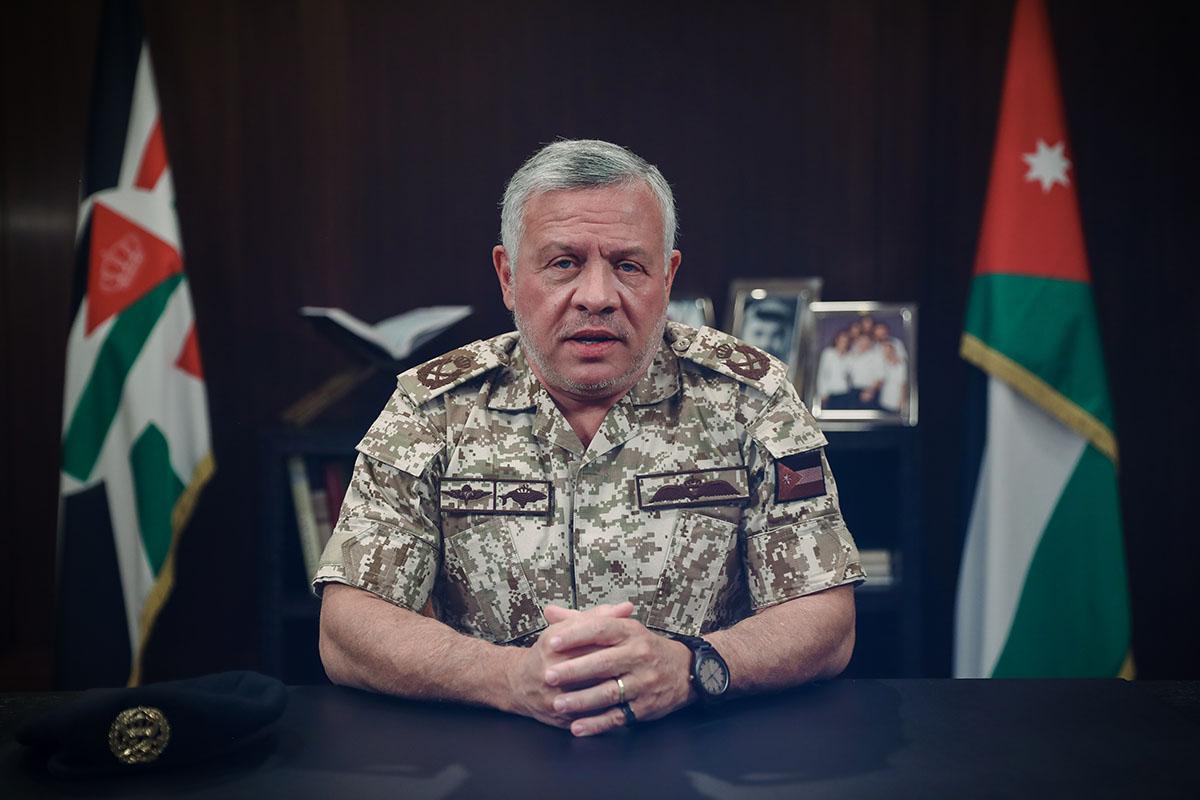 جلالة الملك عبدالله الثاني يوجه كلمة للأردنيين والأردنيات