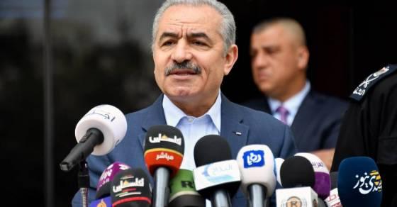 د.أشتية يعلن عن إجراءات لمواجهة كورونا منها موازنة طوارئ وإلغاء التقاعد الإجباري بما فيه قطاع غزة