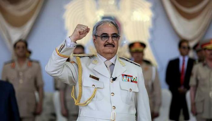حفتر لأردوغان: الجيش الليبي لن يتوقف ولو استنجد الخونة بجميع مرتزقة العالم