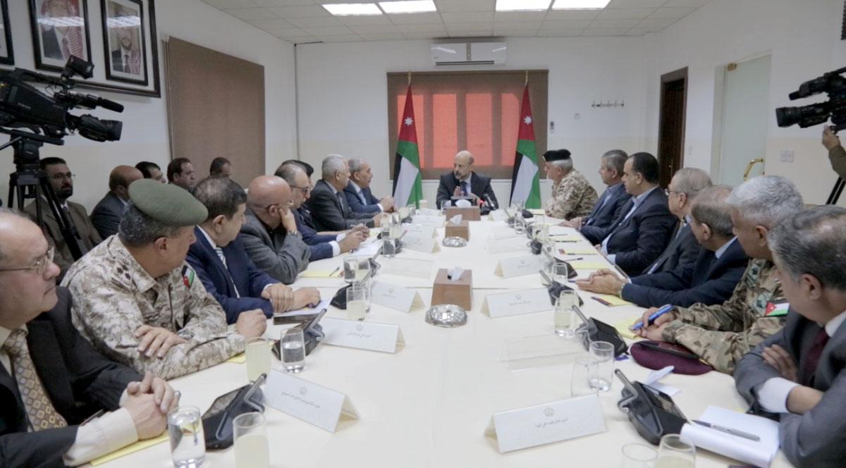 مندوباً عن جلالة الملك، الرزاز يترأس اجتماع مؤسسة المتقاعدين العسكريين