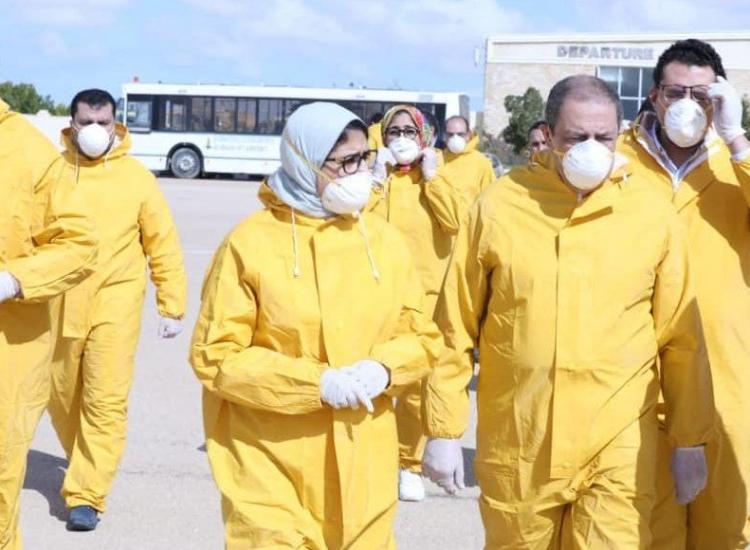 """مصر تعلن اكتشاف أول حالة إصابة بفيروس """"كورونا"""" على أراضيها"""