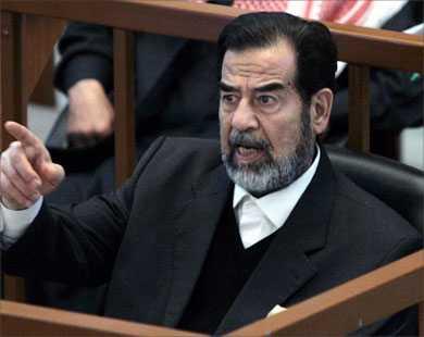 عشرة أسباب لإعدام صدام .. سبب واحد لابقائه حيا