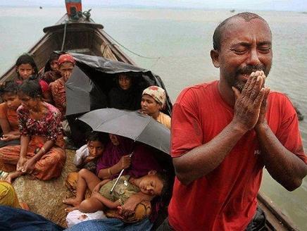 مجددا .. هروب الآلاف من مسلمي بورما مع حلول العيد
