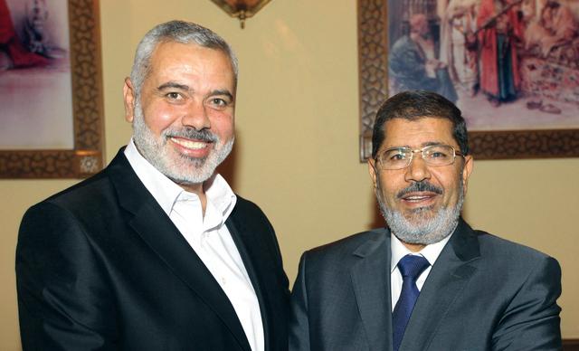 مرسي لــ هنية: لن نسكت على أي عدوان على غزة