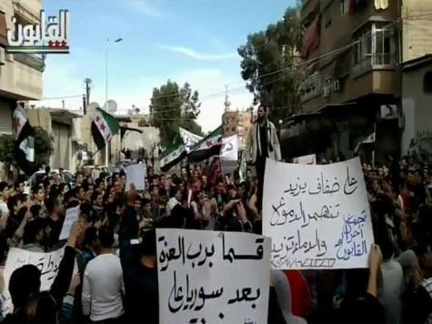 140 قتيلا بسوريا وقصف عنيف يطال دمشق