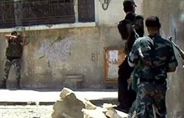 اشتباكات قرب القصر الجمهوري بدمشق