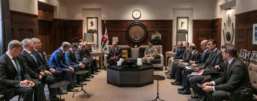 جلالة الملك عبدالله الثاني يلتقي رئيس جمهورية أديغيا – روسيا الاتحادية