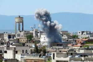 حمص تحت النار.. قصف غير مسبوق يضرب المدينة