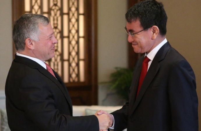 الملك يعرب عن تقديره لدعم اليابان للأردن وجهودها في تحريك عملية السلام