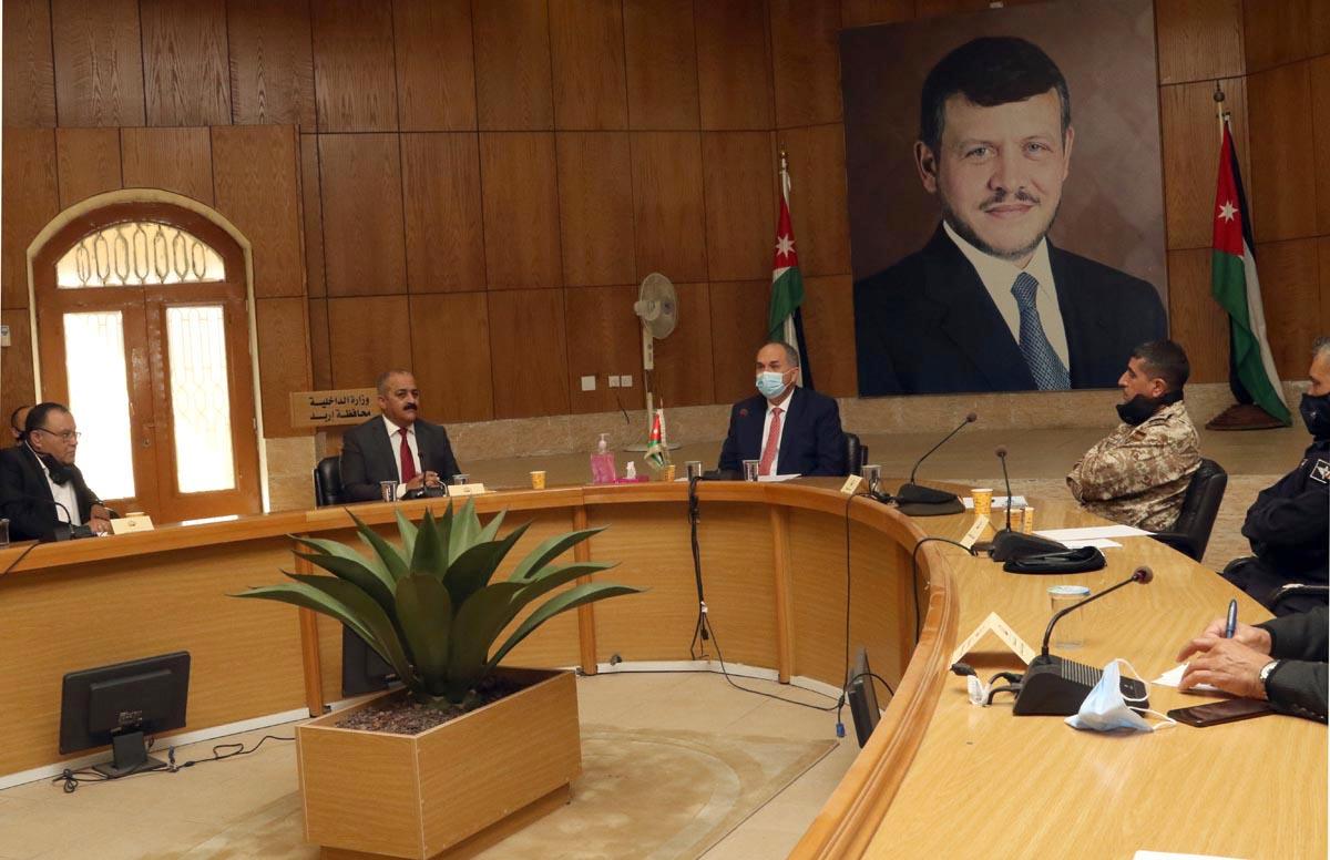 وزير الداخلية: أمن الاستثمار اولوية للحكومة ولا تهاون في الحفاظ عليه وتنميته