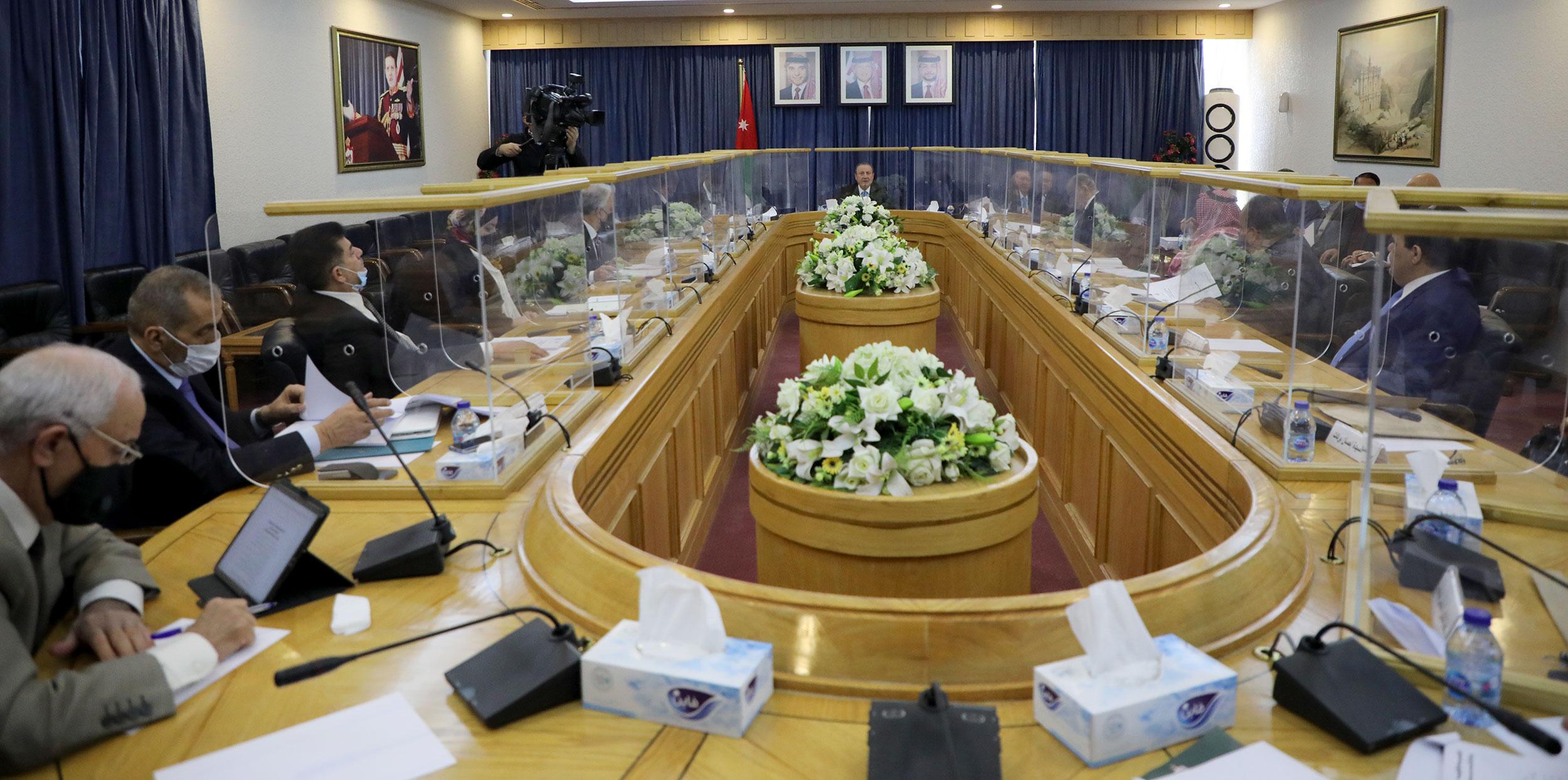 قانونية الأعيان توافق على 4 مشروعات قوانين للتعاون مع أوكرانيا