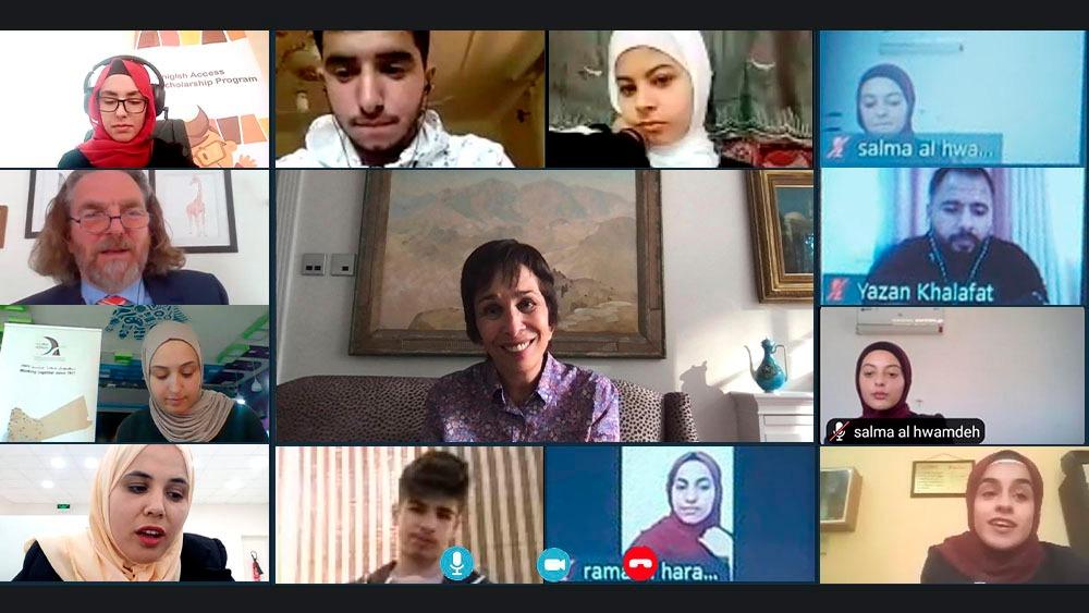 الأميرة بسمة ترعى الاحتفال بتخريج المشاركين في مشروع اكسس للغة الإنجليزية