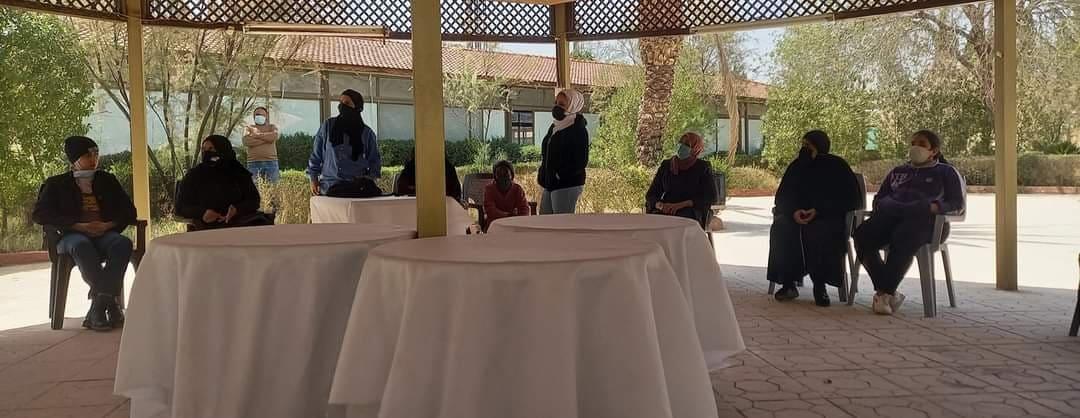 لقاء تعارفي تخطيطي بمدينة الأمير محمد للشباب في الزرقاء