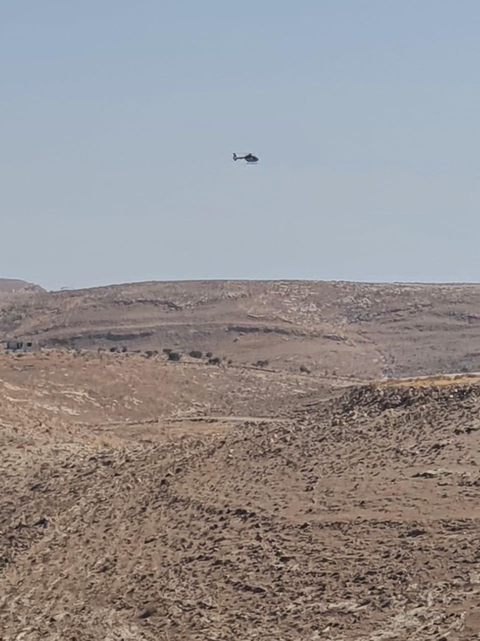 الأمن العام: طائرة عامودية تشارك بالبحث عن مواطن مفقود في مأدبا