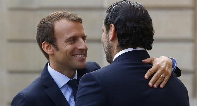الرئيس الفرنسى يرحب بعدول سعد الحريرى عن الاستقالة