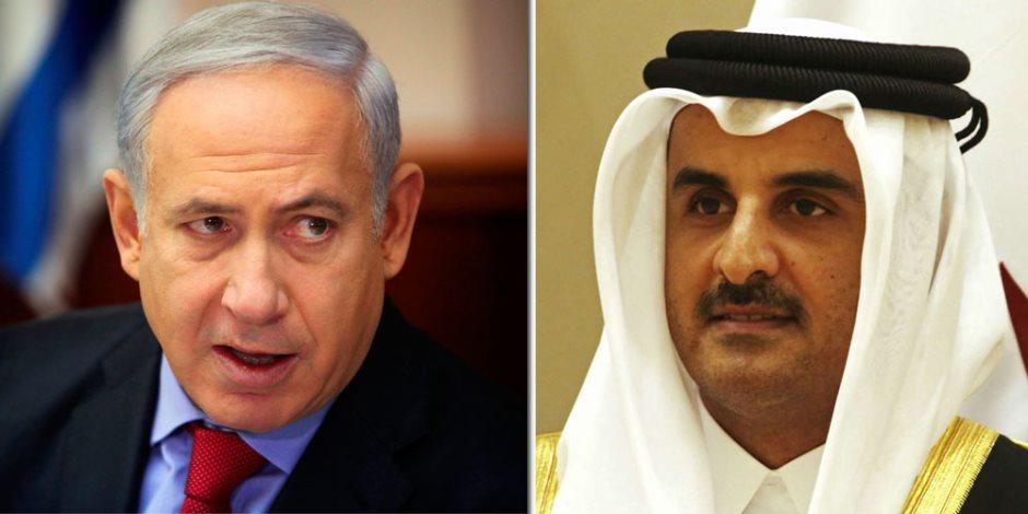 «تميم» يتودد إلى إسرائيل بأموال القطريين.. تفاصيل فضيحة تبرع «الحمدين» لجيش الاحتلال