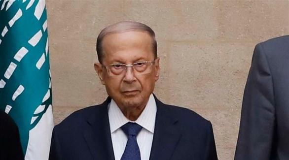 عون يحذر من خطورة بدء إسرائيل التنقيب في منطقة النزاع مع لبنان