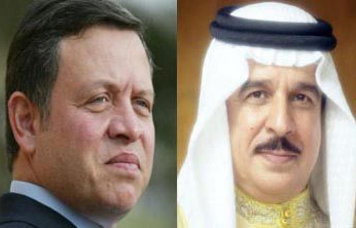 جلالة الملك عبدالله الثاني يتبادل التهاني مع العاهل البحريني بقرب حلول عيد الفطر