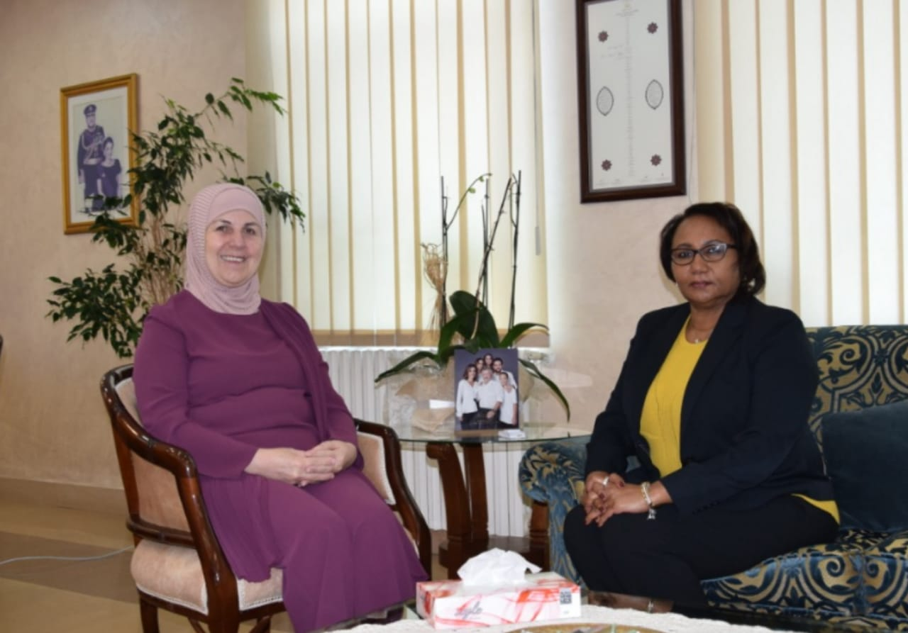 وزيرة التنمية تستقبل مديرة صندوق الامم المتحدة للسكان في الاردن