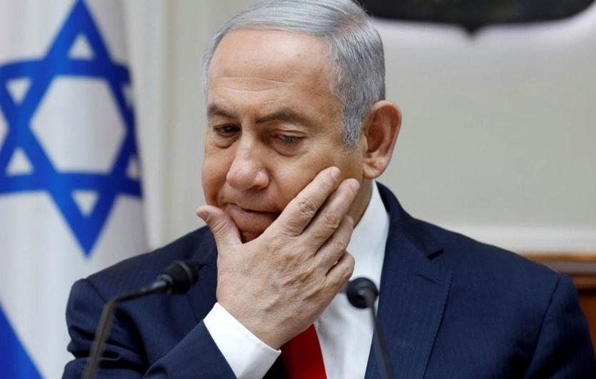 نتن ياهو يرد على التهديدات بقتله وصلبه في تل أبيب