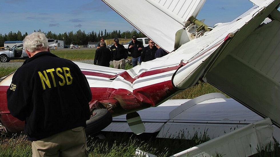 مصرع 7 أشخاص بعد تصادم طائرتين فى أجواء ولاية ألاسكا الأمريكية
