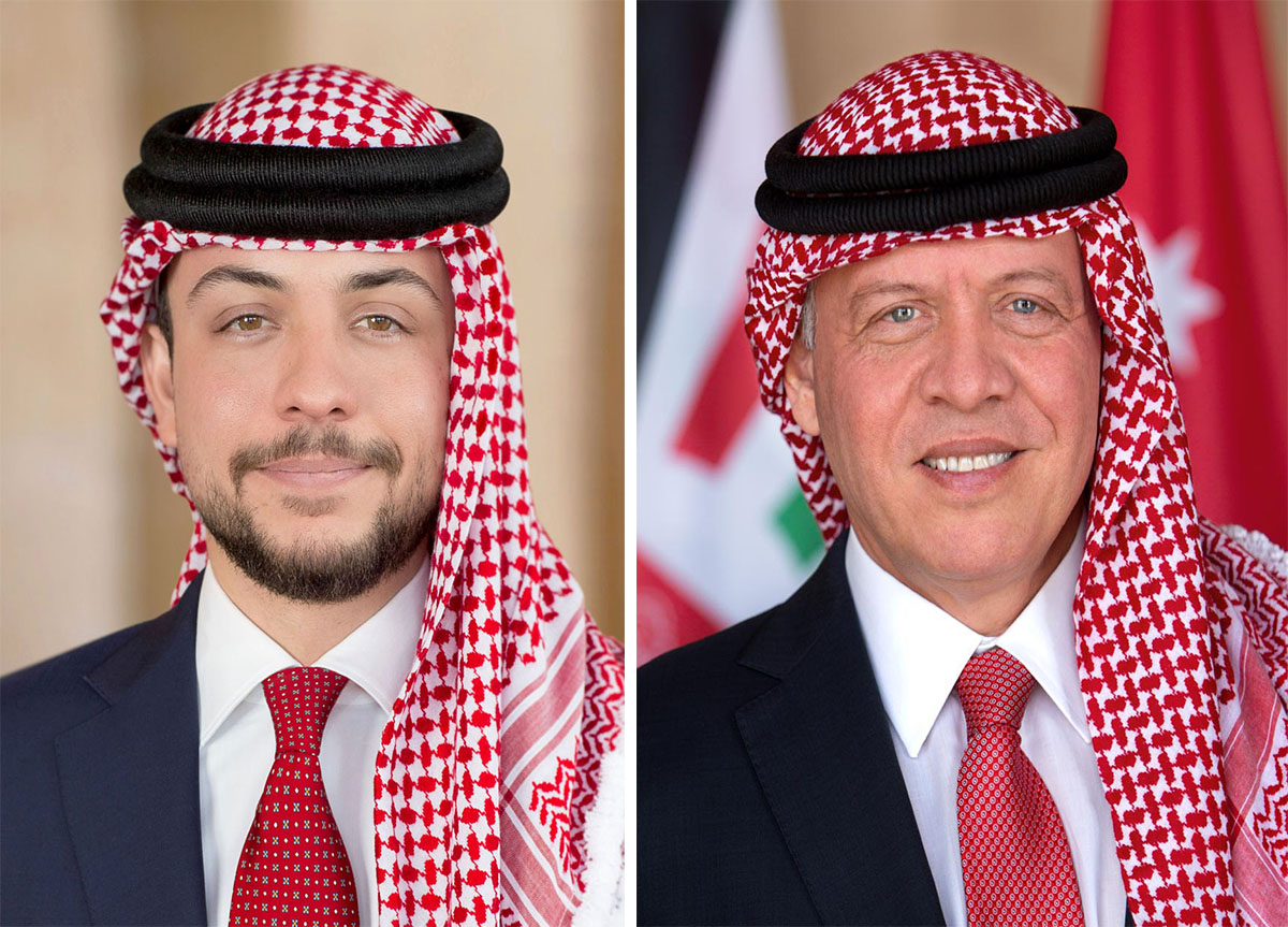 جلالة الملك عبدالله الثاني وسمو ولي العهد يتلقيان برقيات تهنئة بمناسبة عيد الاستقلال